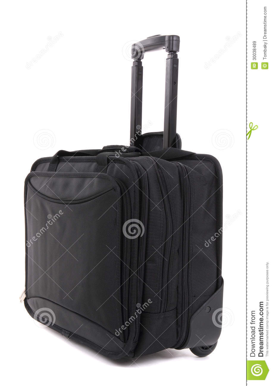 Black Suitcase Royalty Free Stock Images - Image: 30038489