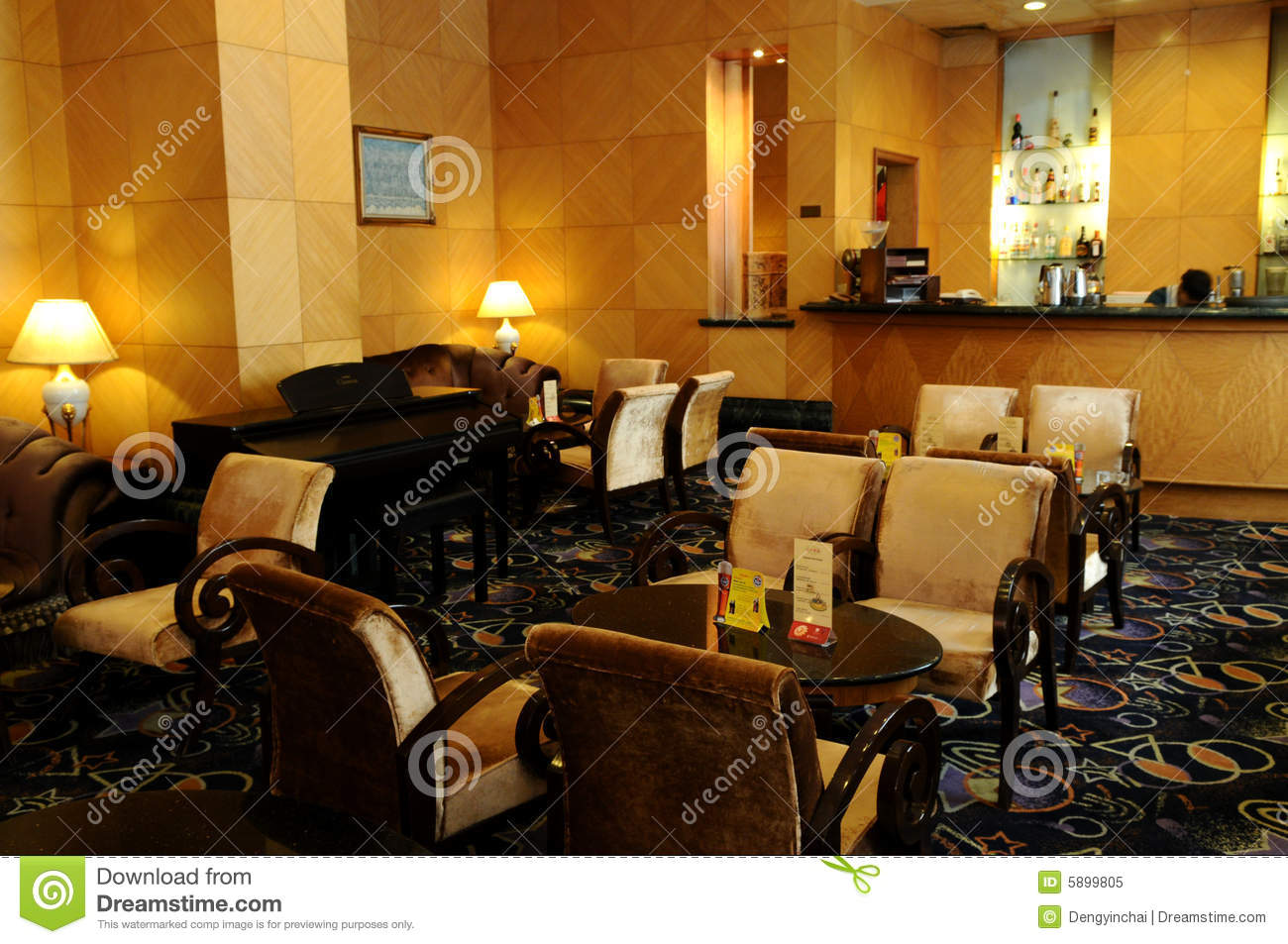 The Small Cafe Stock Image Image Of Architecture