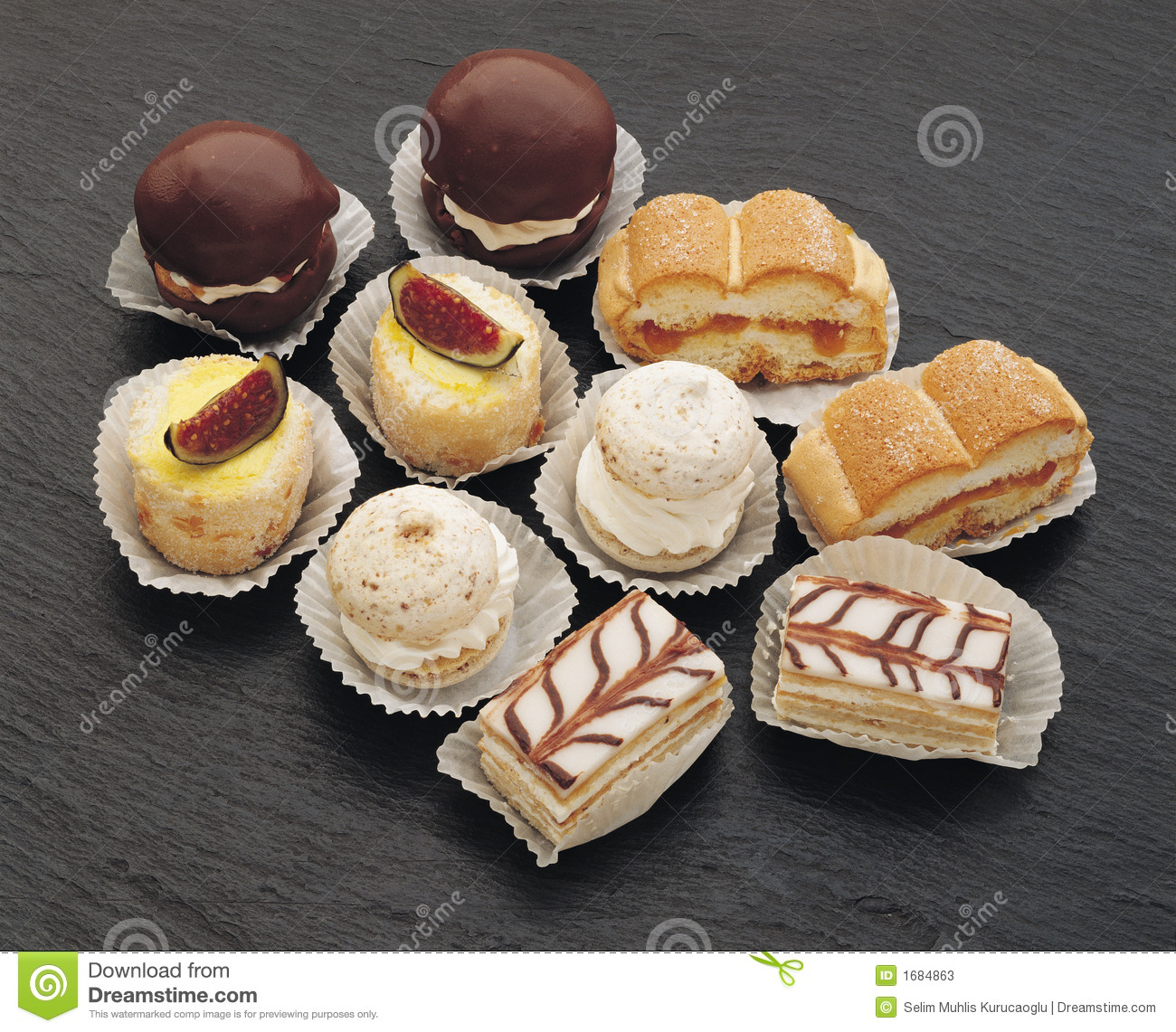 Small Cake Stock Photos - Image: 1684863