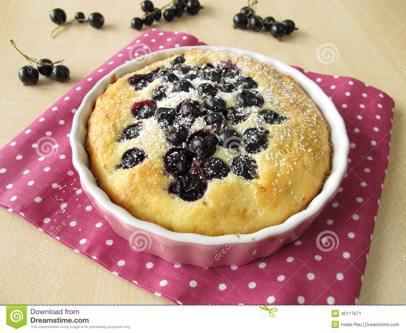Sponge Cakes With Currants