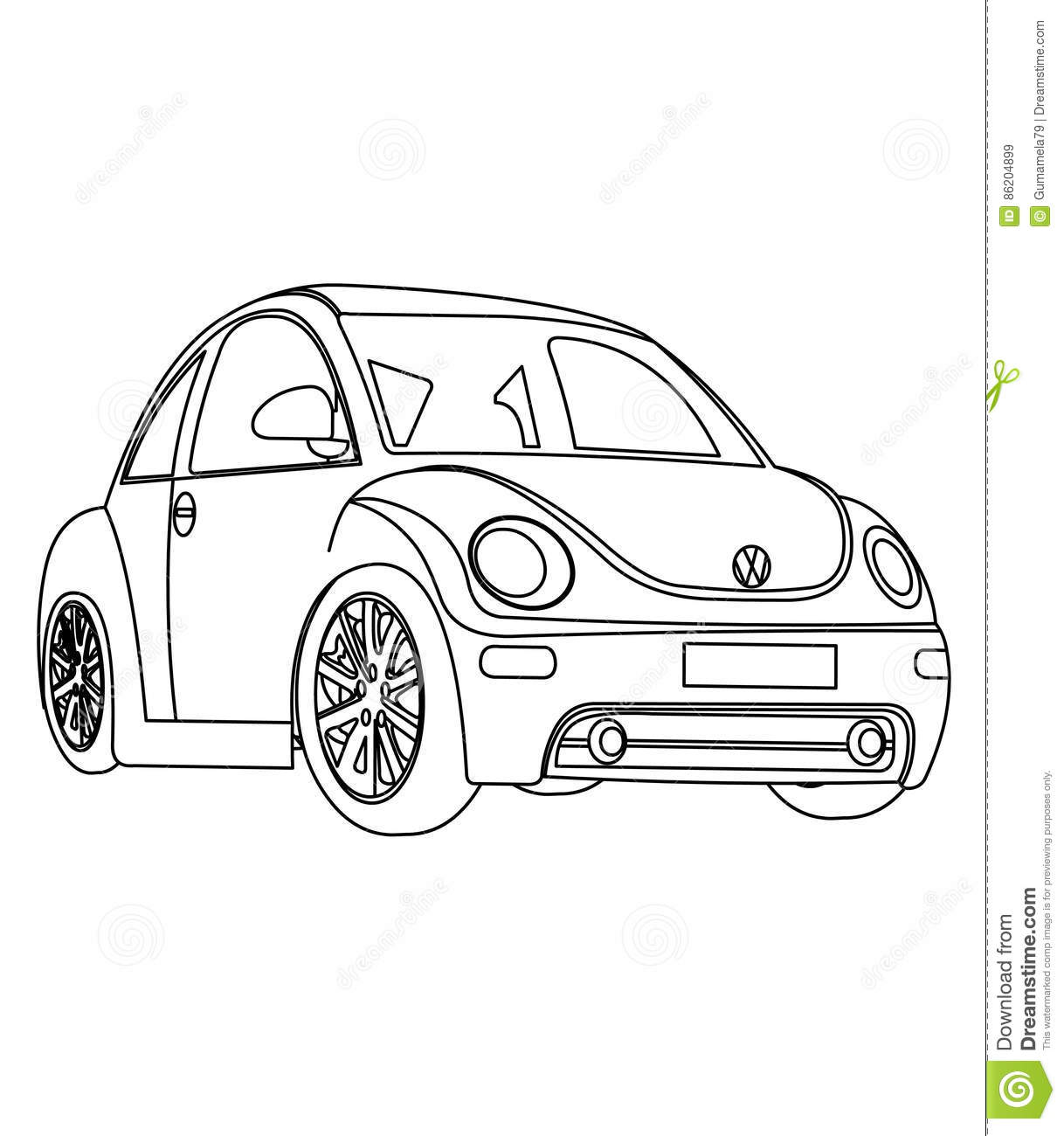 little cars coloring pages - photo#6