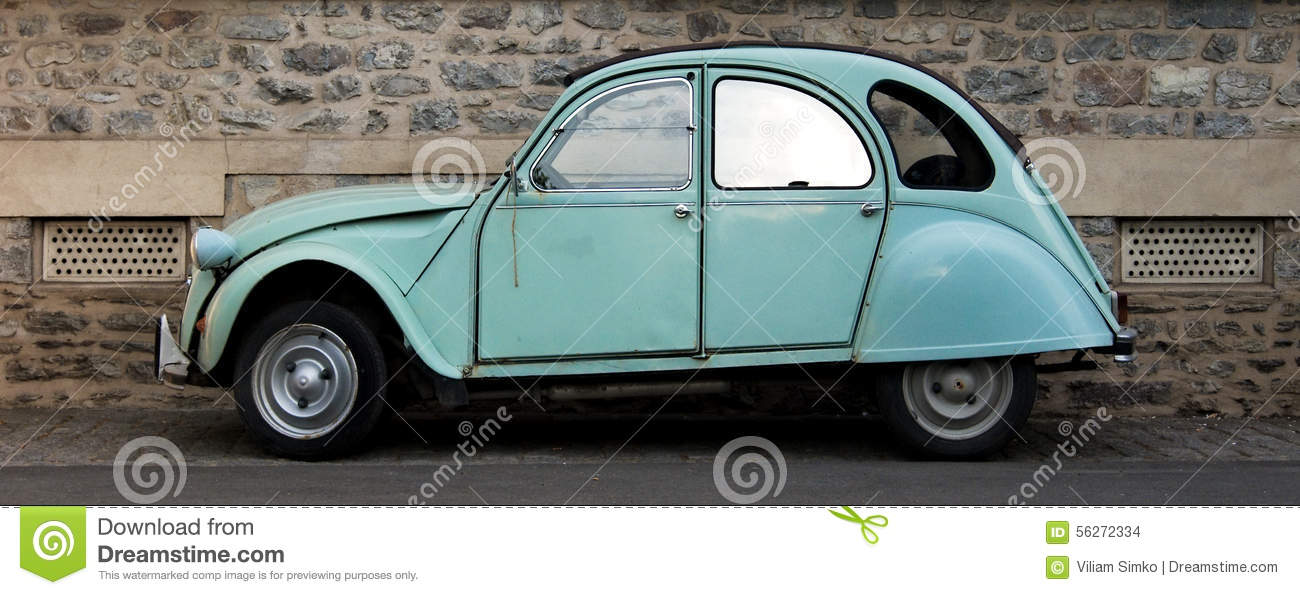 Small car stock photo. Image of pastel, small, facade - 56272334