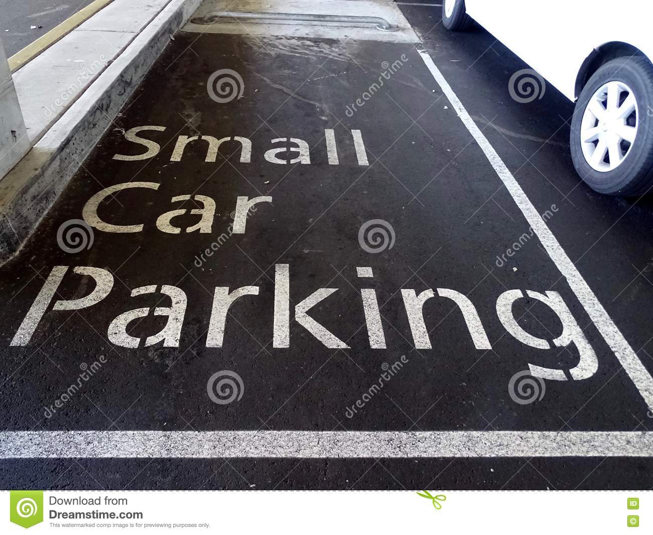 small car parking space stock photo  image of space  shopping