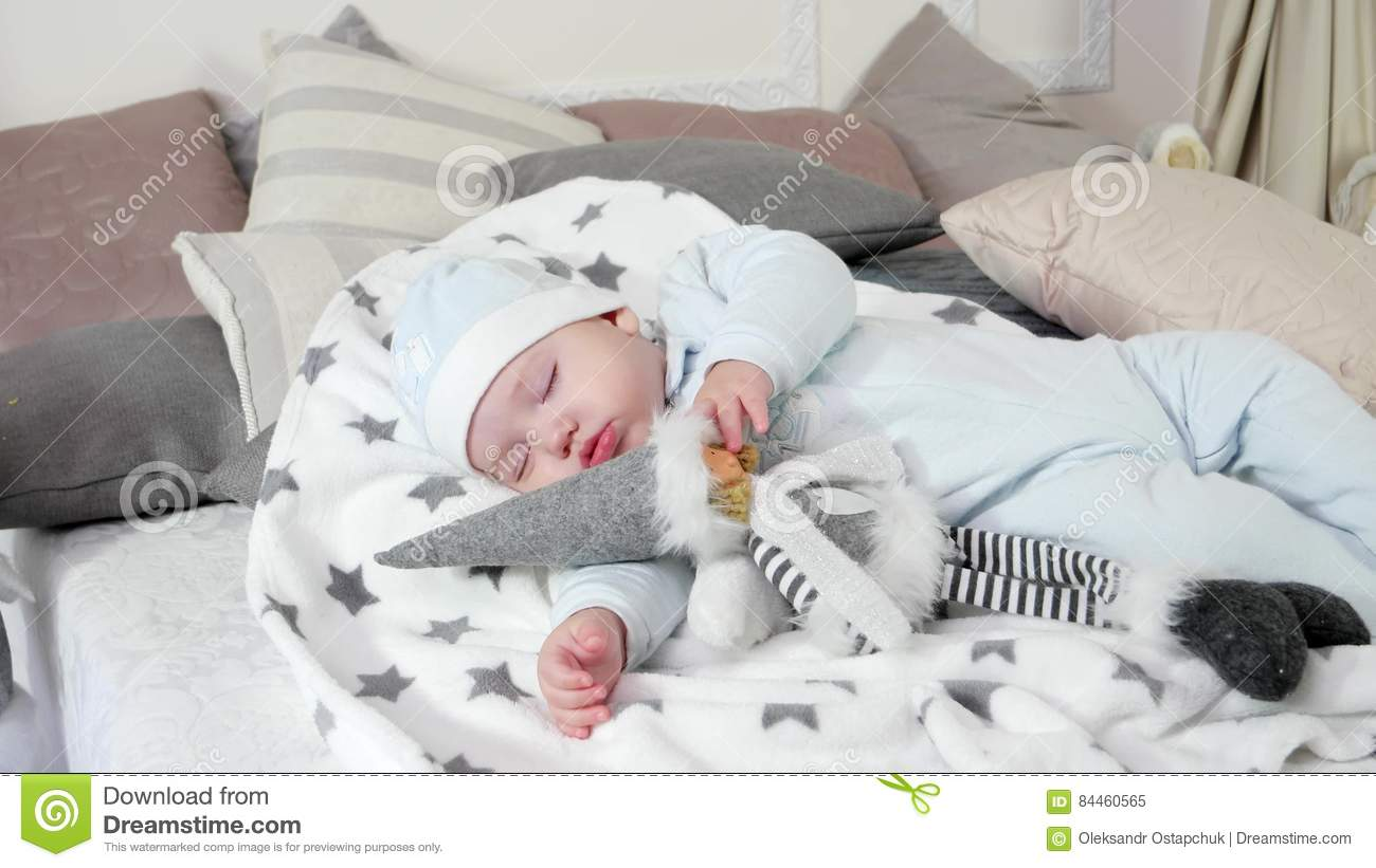 Baby bed for parents bed - Small Child Sleeps Sweet Baby Sleeping On Parents Bed In A Cozy Atmosphere In The House Little Boy Asleep Hugging A Stock Video Video 84460565