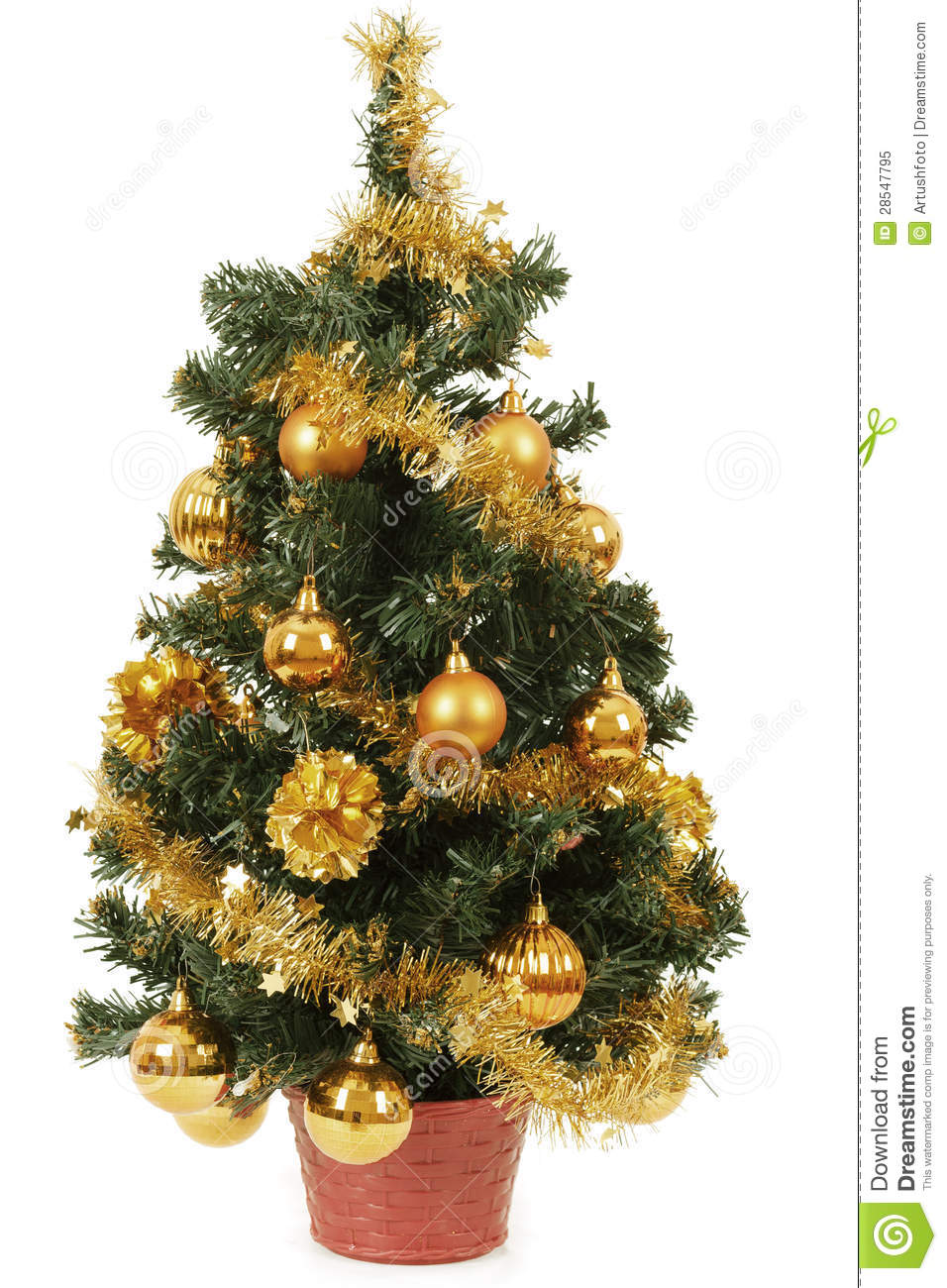 White Decorative Christmas Tree