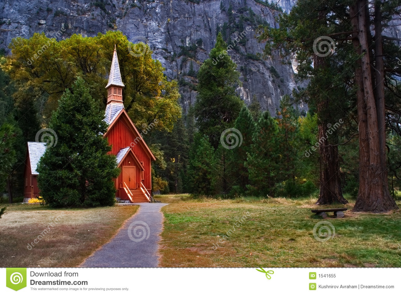 Download Small church stock image. Image of grounds, fantasy, chapel - 1541655