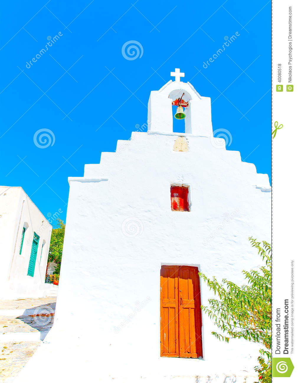 Old beautiful traditional house in chora the capital of amorgos island - The Small Church