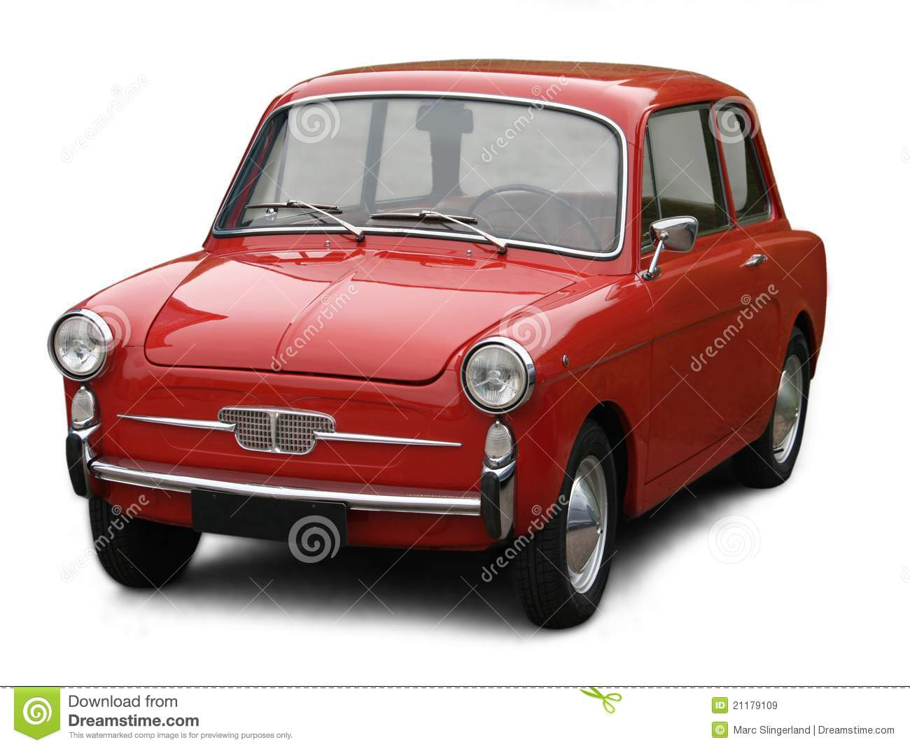 Small Classic Italian Car Royalty Free Stock Images