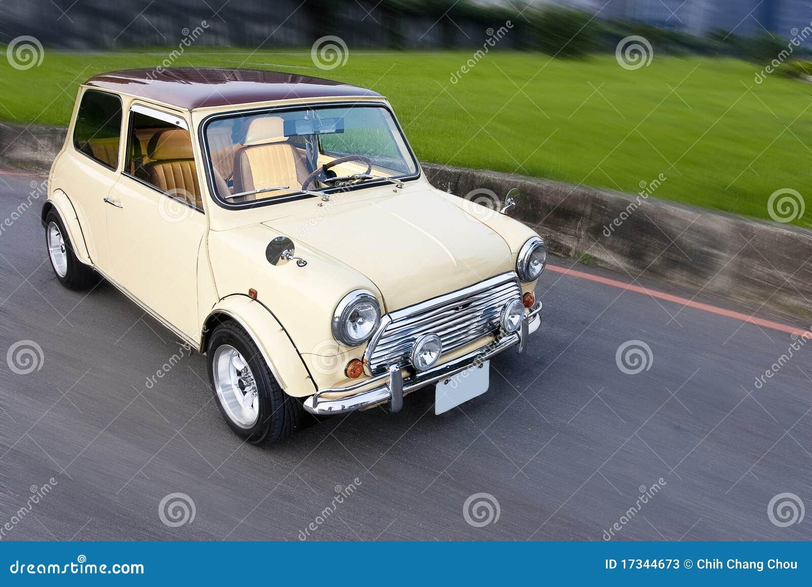 Small compact car Stock Photos