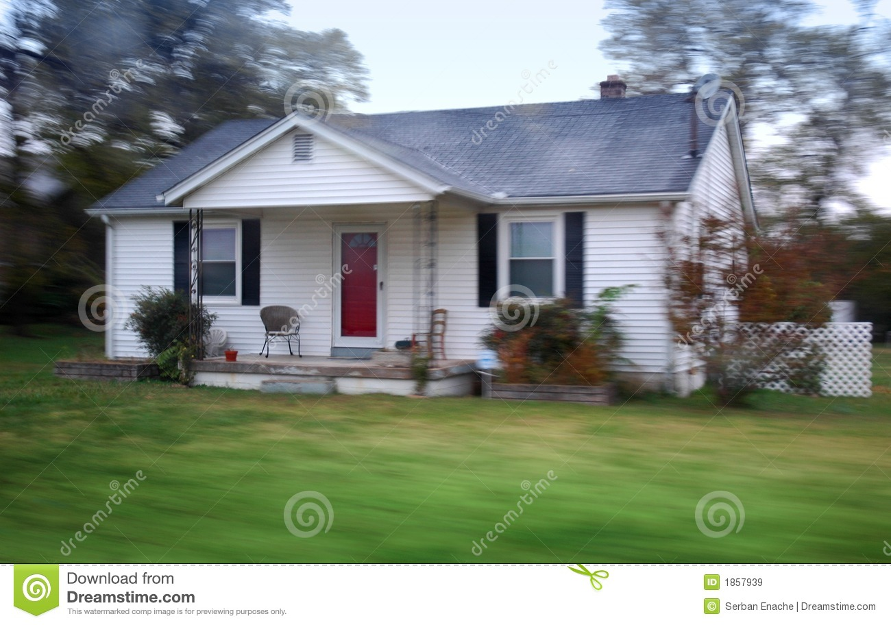 Small country home royalty free stock images image 1857939 for Pictures of small country homes