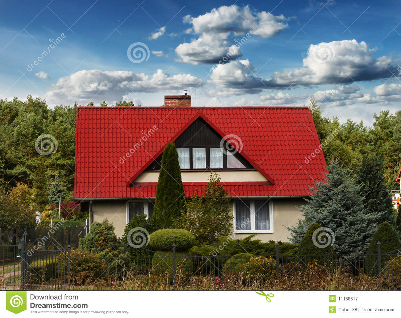 Small Country House Royalty Free Stock Photography Image 11168617