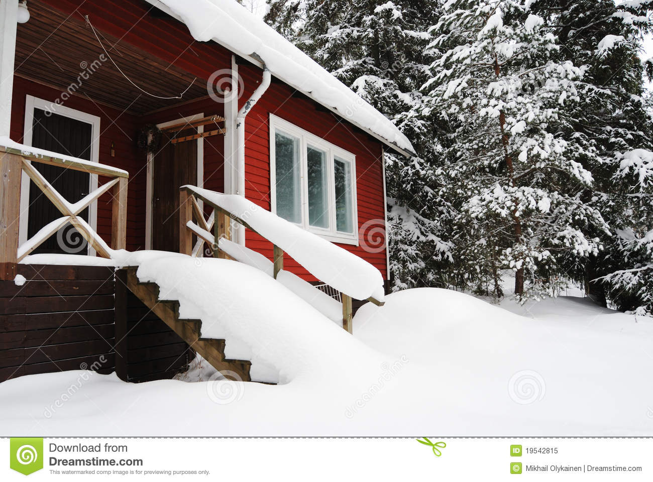 small country house in finland royalty free stock photo image country covered finland house