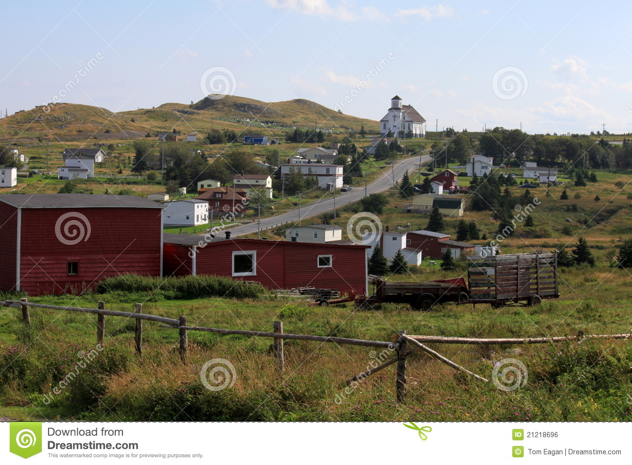 small country town royalty free stock image image 21218696