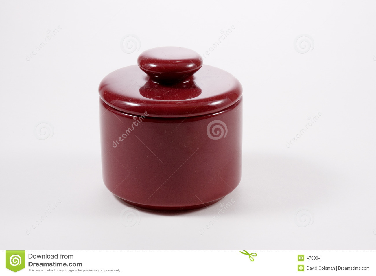 Download Small Crock stock photo. Image of maroon, handle, container - 470994