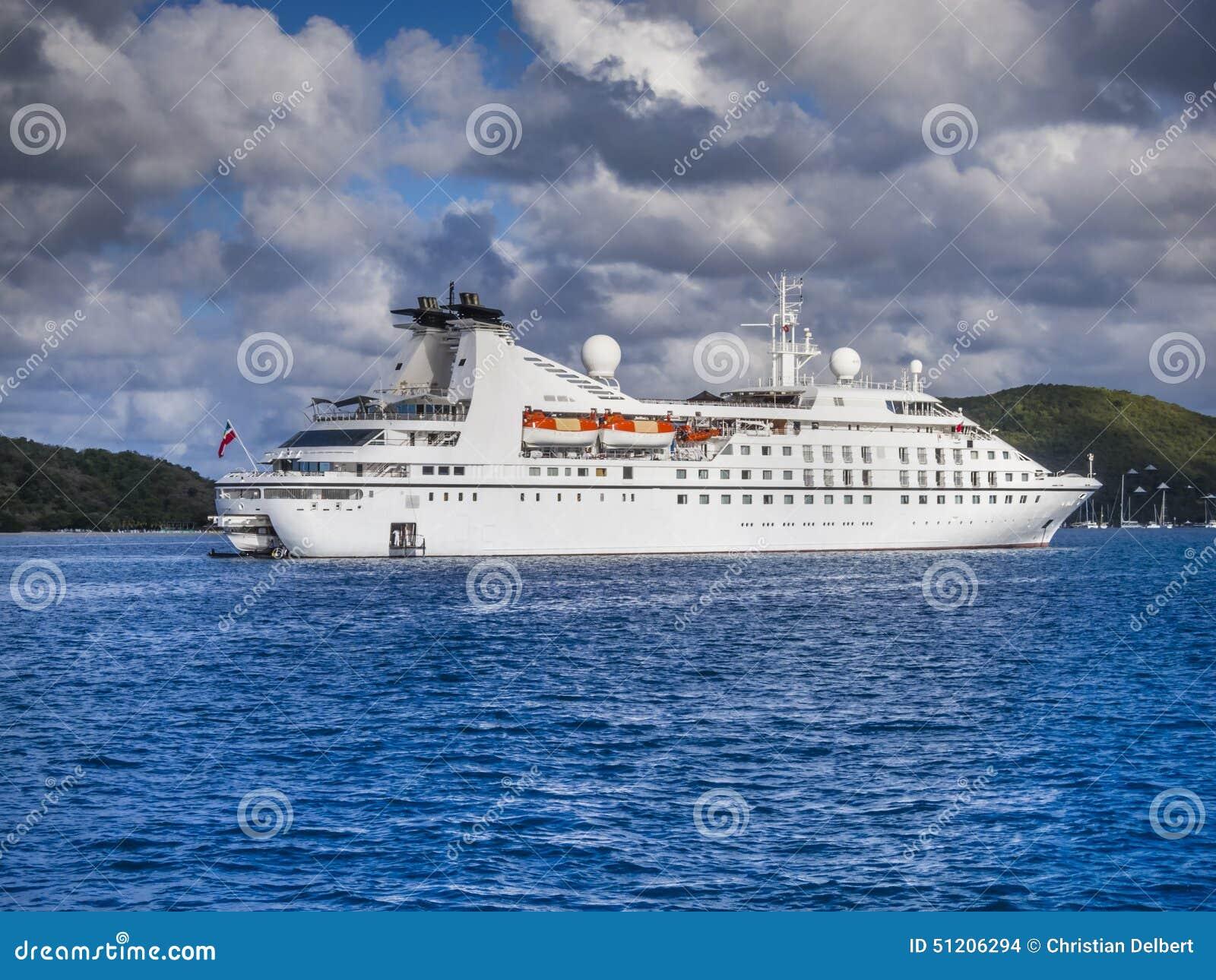 Small Cruise Ship Stock Photo - Image 51206294
