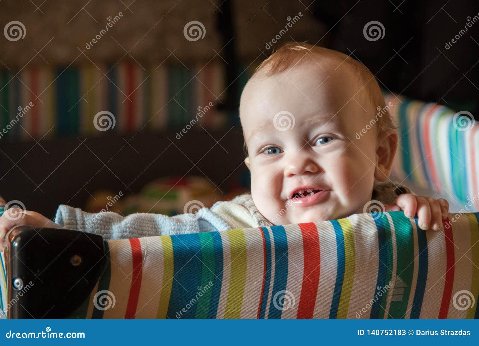 Small cute child