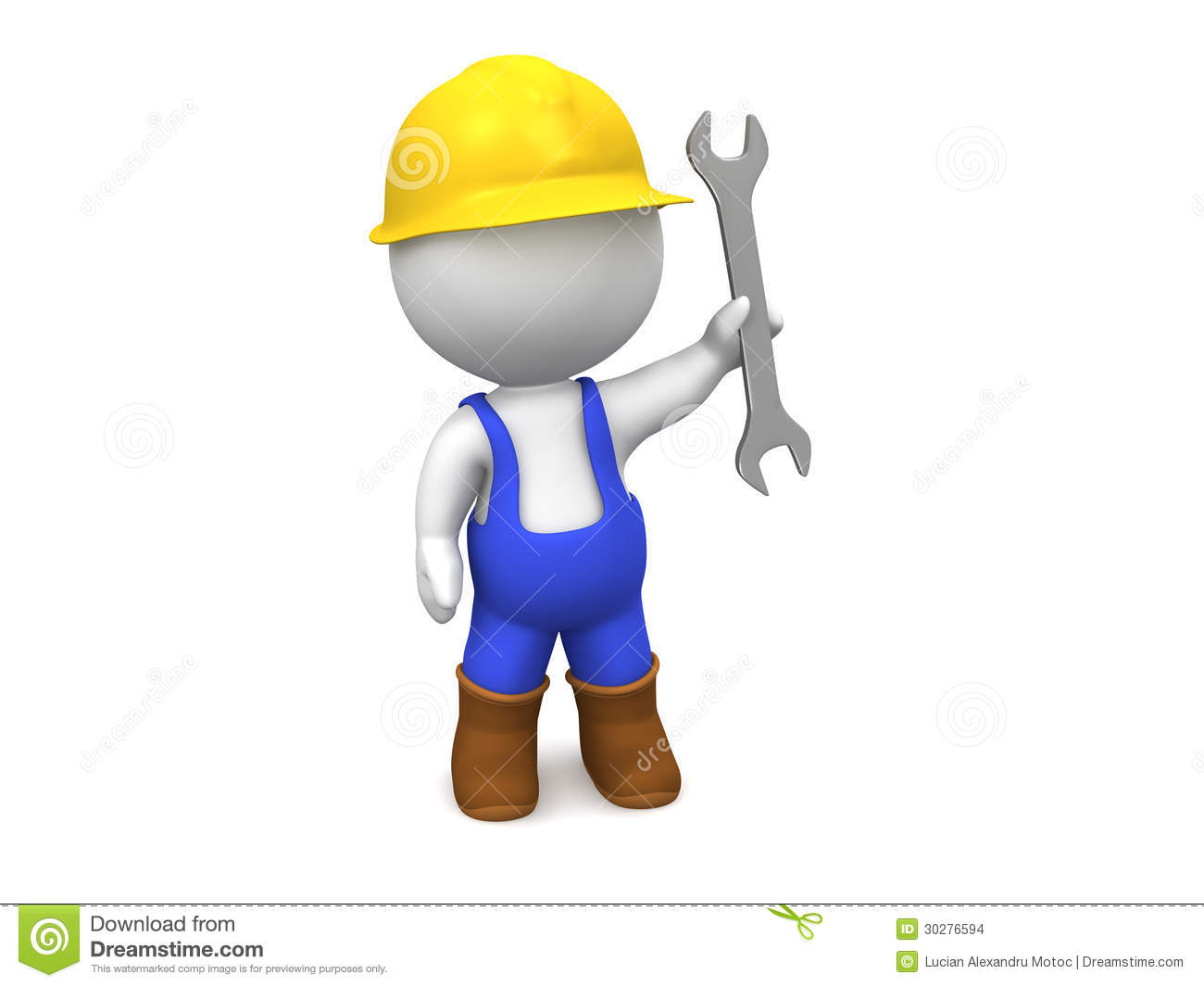 Clipart Hard Worker
