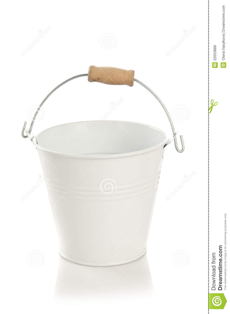 small decorative bucket royalty free stock images image