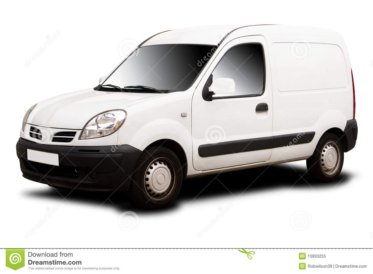 Small Delivery Van Royalty Free Stock Photo - Image: 10893255: www.dreamstime.com/royalty-free-stock-photo-small-delivery-van...