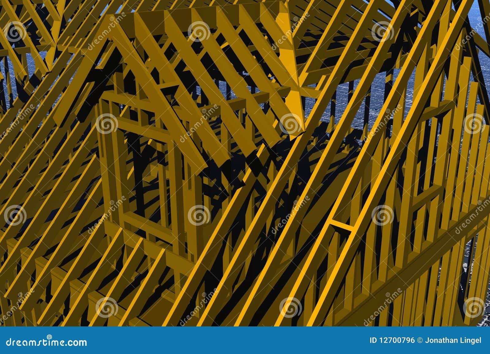 Small Dormer Frame Stock Illustration Image Of Cape