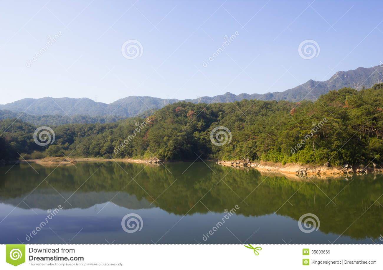 Small Dragon Lake in XiaMen