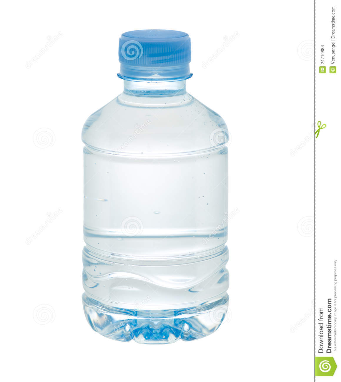 Small Drinking Water Bottle Stock Photo Image Of Blank