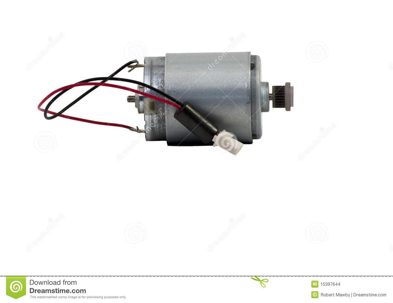 Small electric can motor stock images image 15397644 for Small geared electric motors