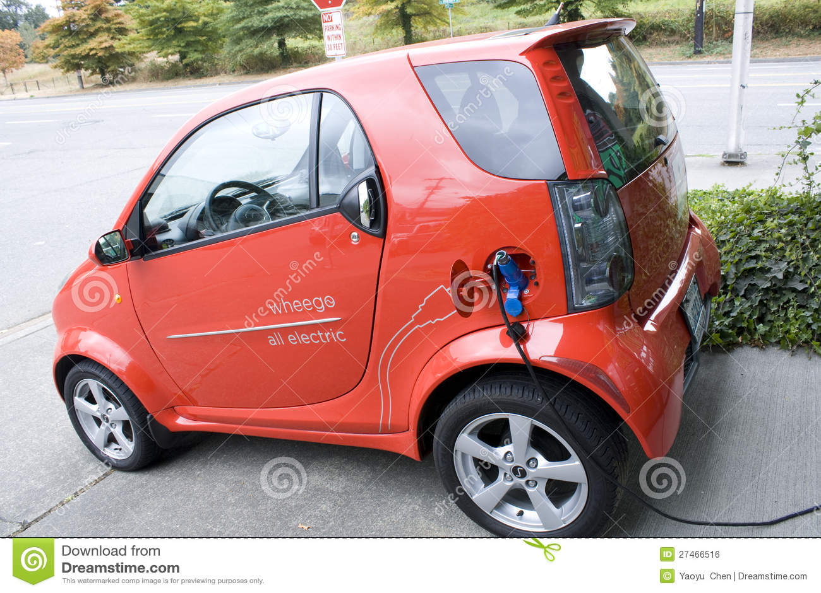 electric car editorial image 76381466. Black Bedroom Furniture Sets. Home Design Ideas