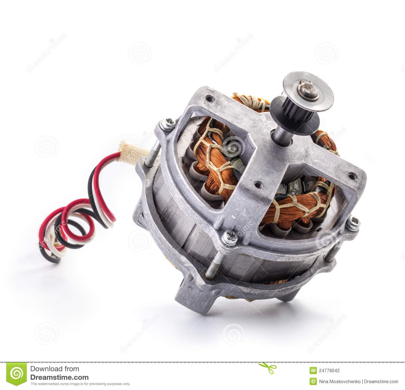 Small Electric Motor Stock Photography Image 24779042