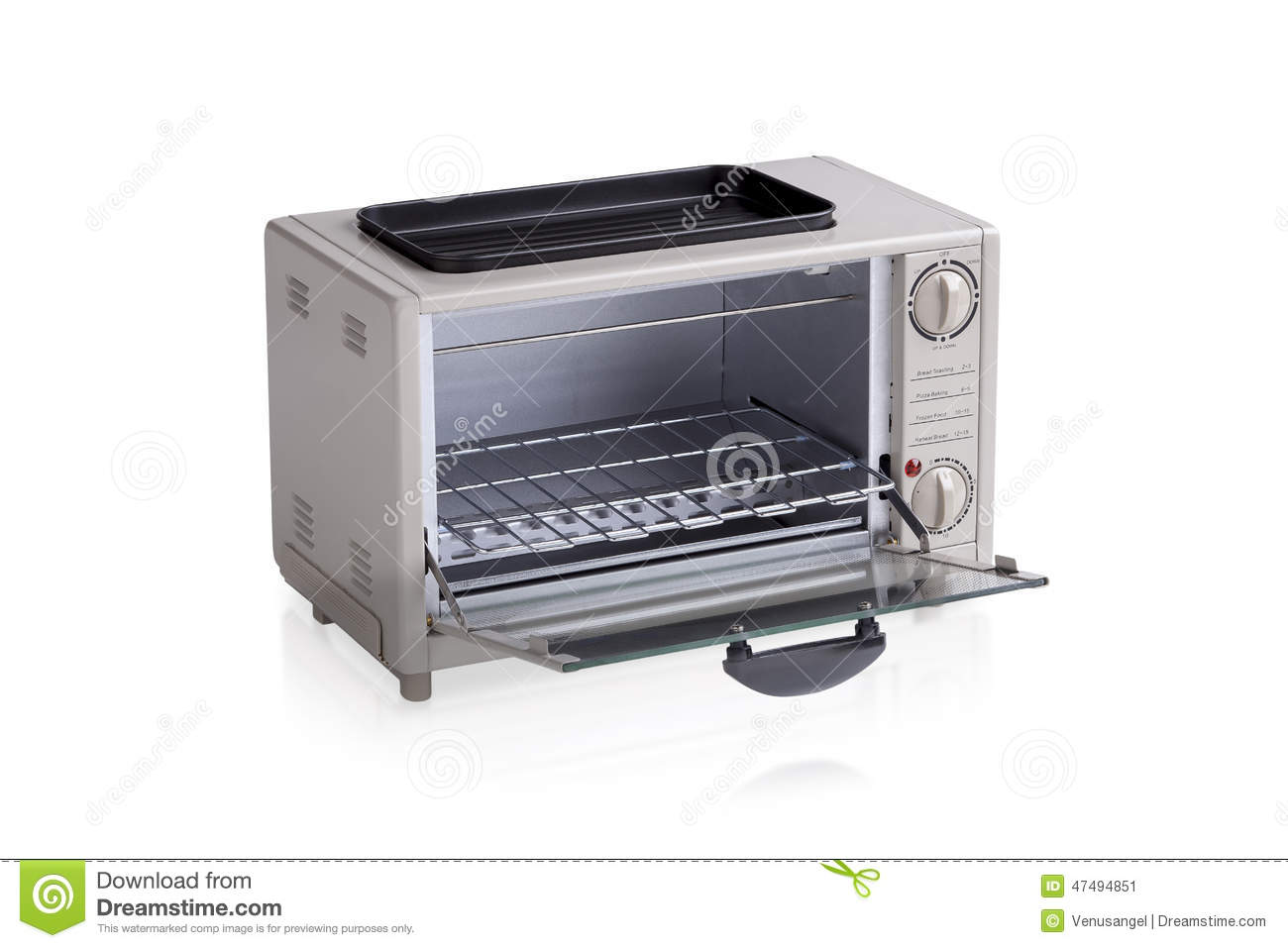 Small Electric Oven Stock Illustration Image 47494851