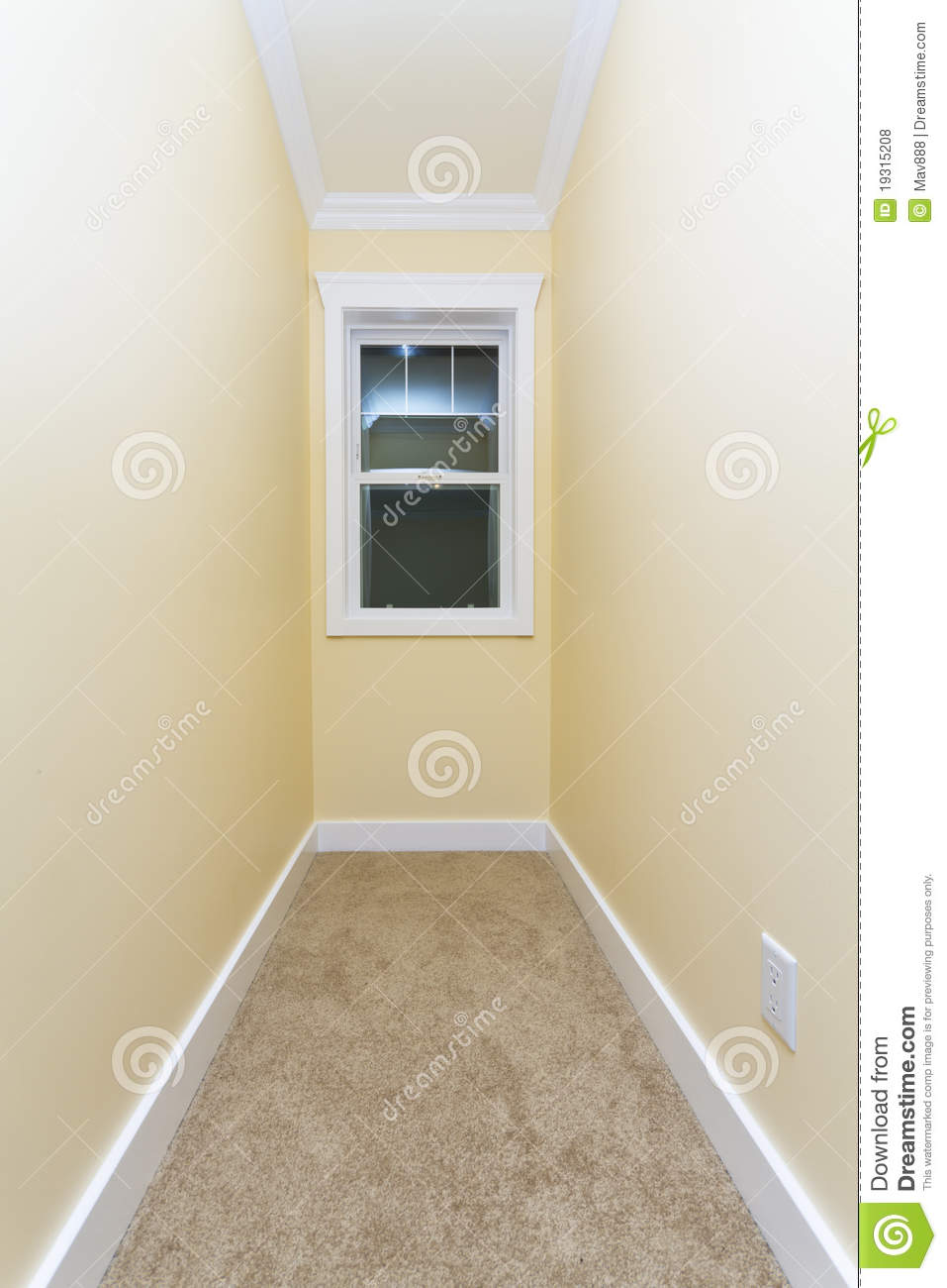 Small Empty Room Stock Photo Image Of Socket Apartment