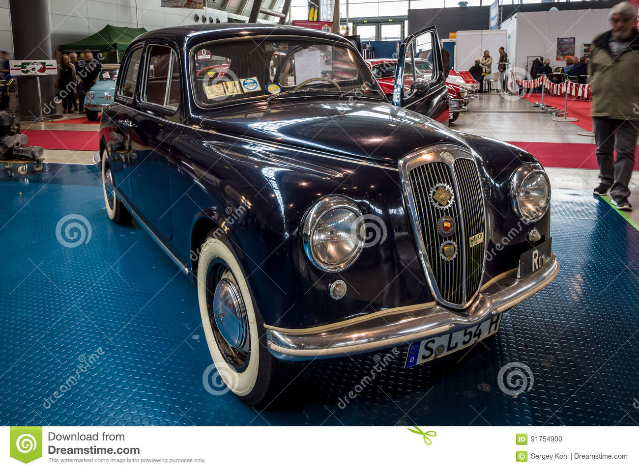 The Small Family Car Lancia Appia Berlina, First Series ...