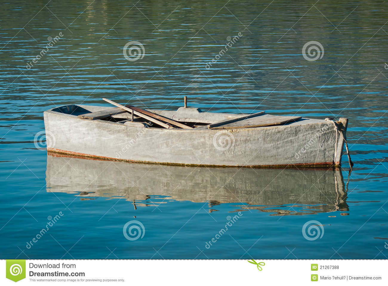 Small fishing boat stock photo. Image of worn, wooden - 21267388