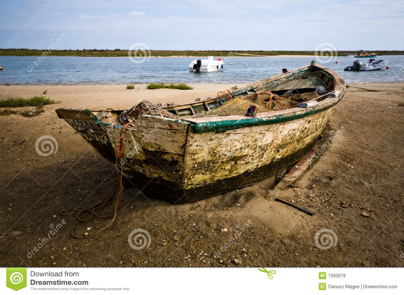 Small fishing boat royalty free stock images image 7390979 for A small fishing boat