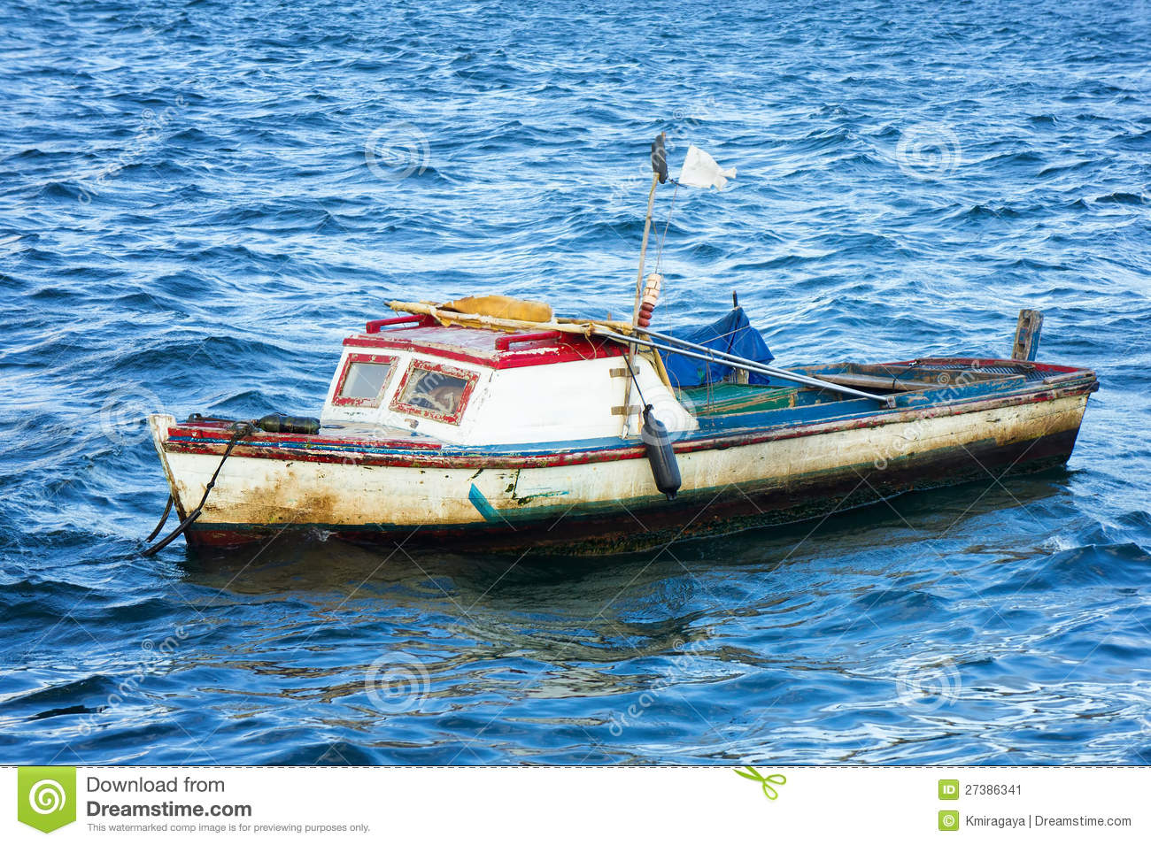 Small fishing boat in havana stock image image 27386341 for A small fishing boat