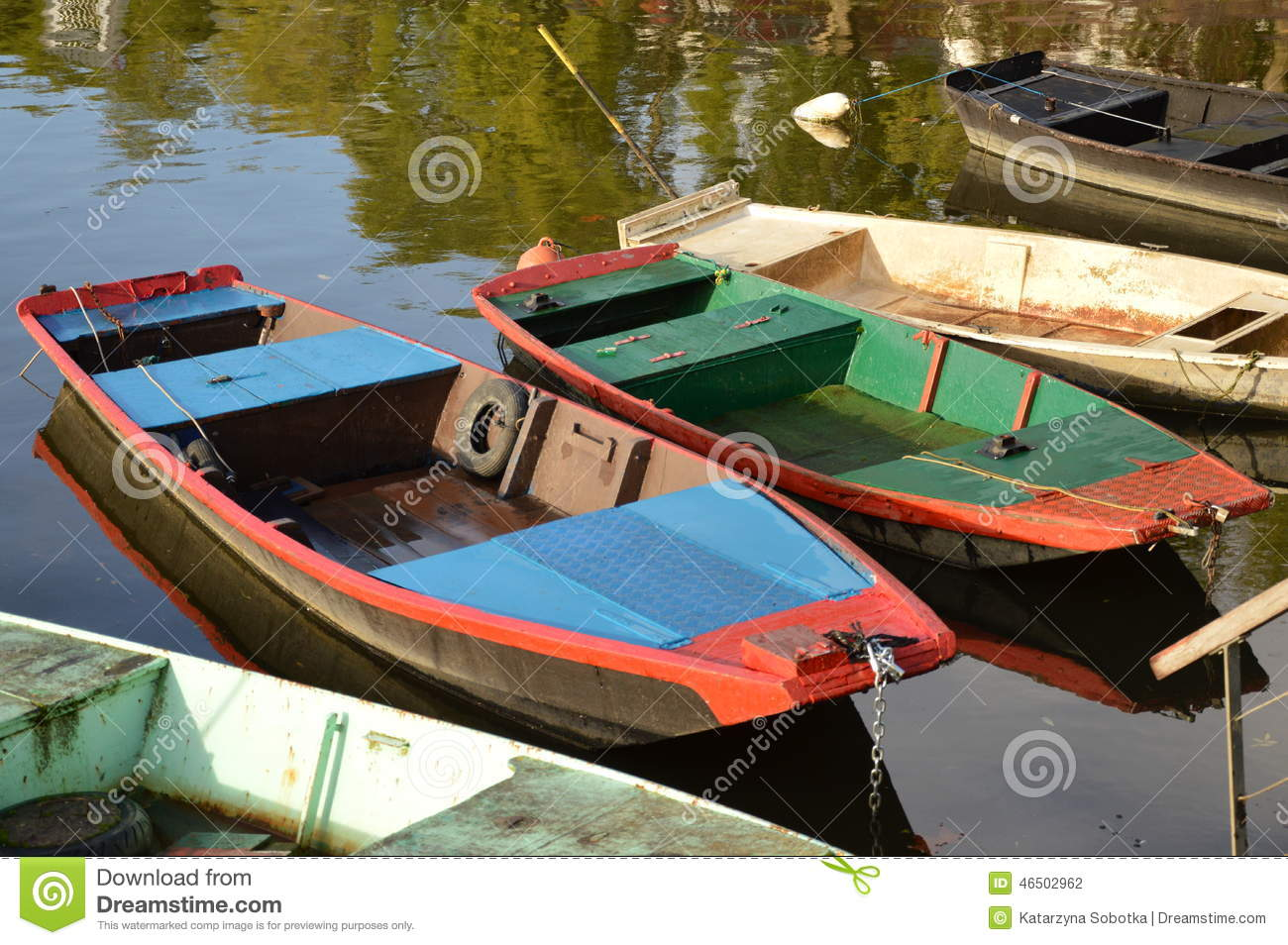 Small fishing boats on the loire river in france stock for Best river fishing boat