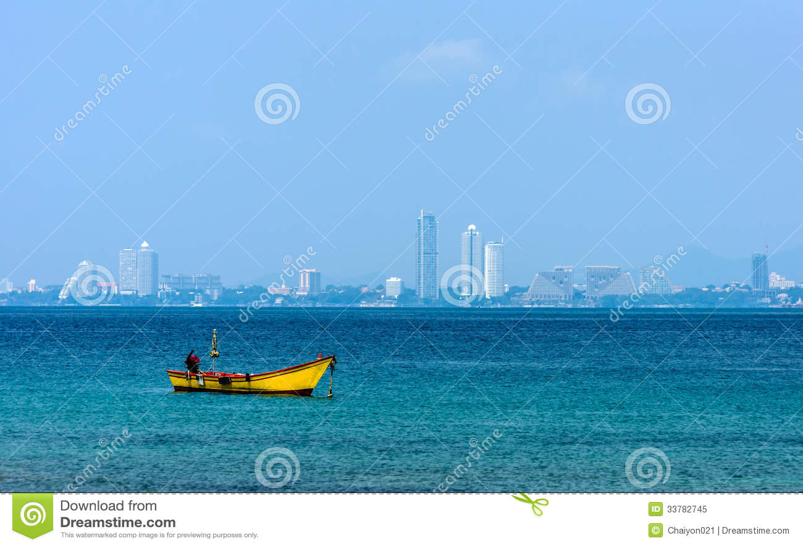 Small Fishing Boats On The Sea Royalty Free Stock Photo - Image ...