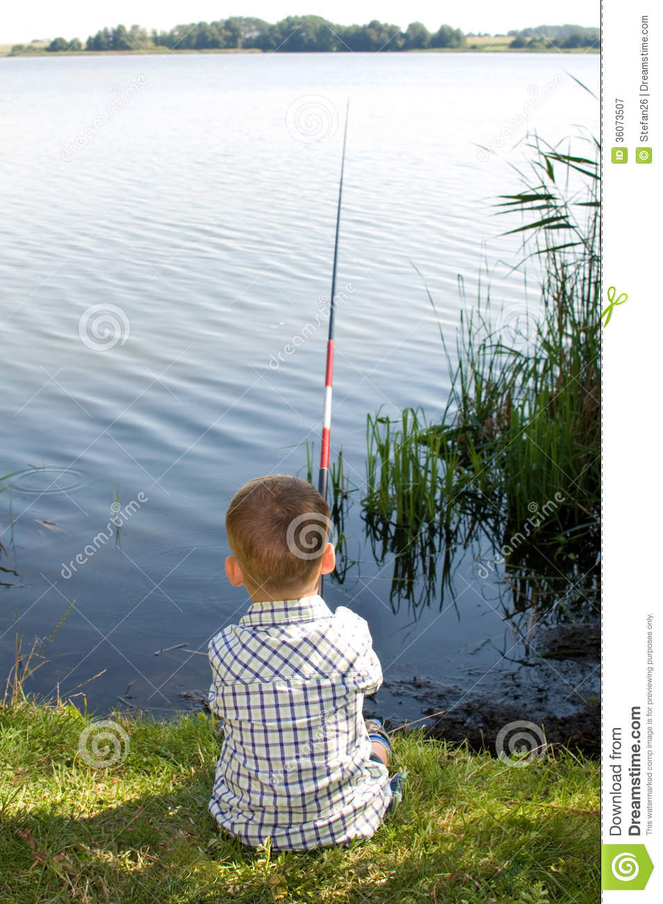 Small fishing man royalty free stock photography image for Little boy fishing