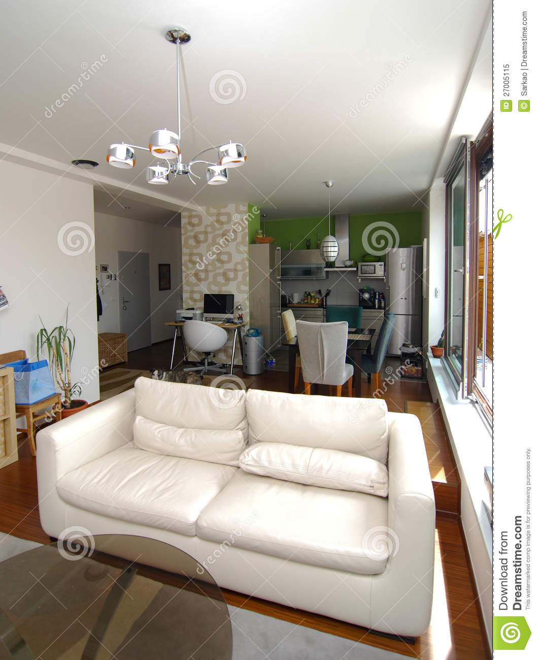 Small flat royalty free stock photo image 27005115 for Small flat interior