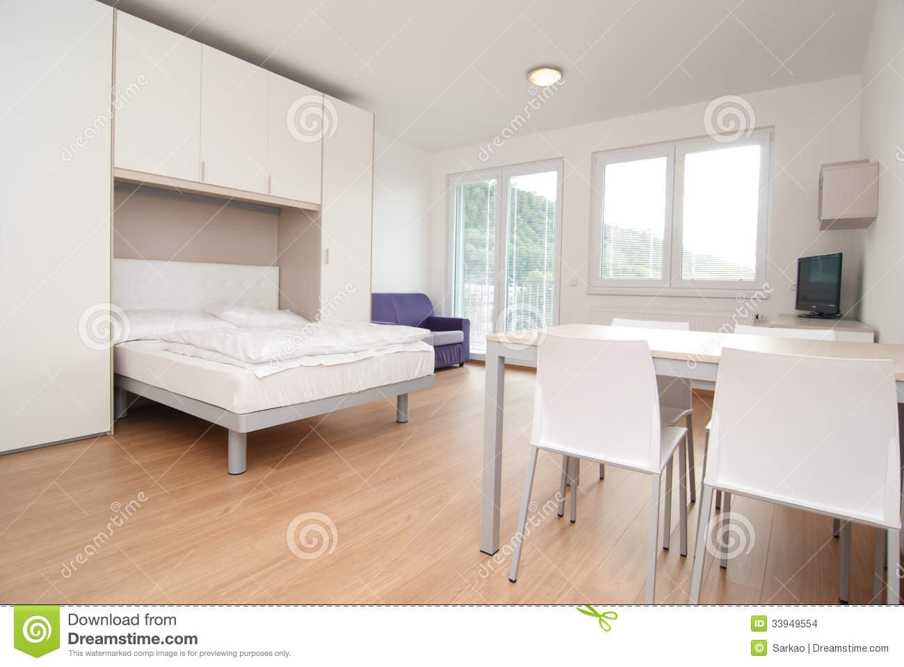 Small flat stock images image 33949554 for Small flat interior