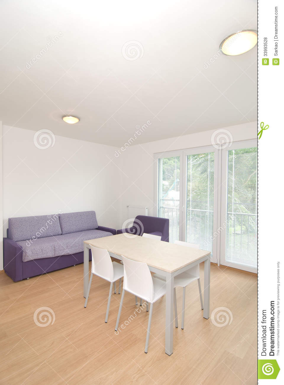 Small flat royalty free stock photos image 33993528 for Small flat interior