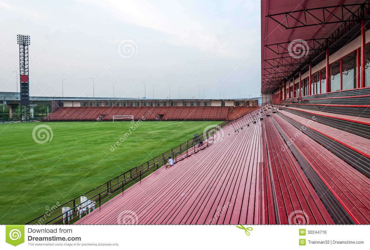 small football stadium stock photo  image of horizontal
