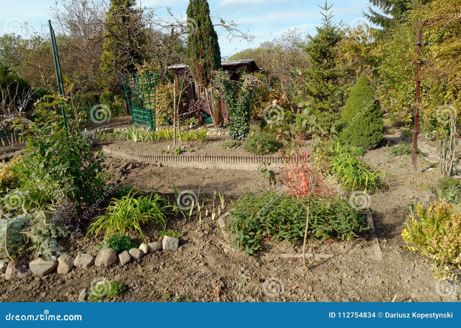 Small garden stock photo. Image of nature, gardening - 112754834