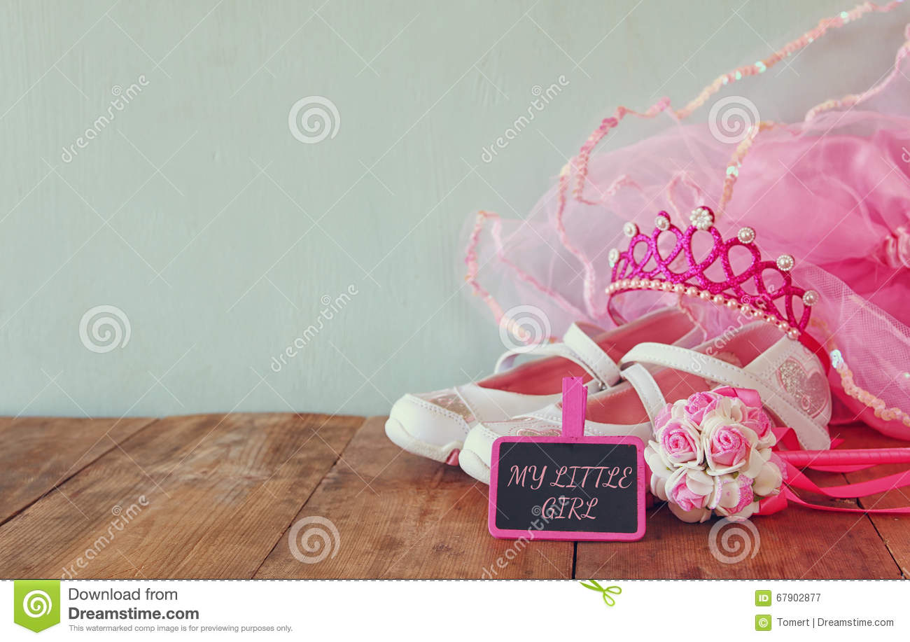 Small Girls Party Outfit White Shoes Crown And Wand Flowers Next