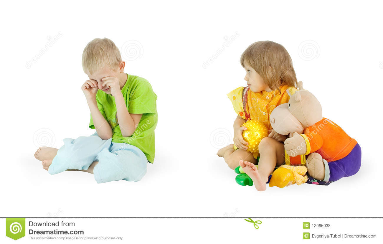 The Small Greedy Person Royalty Free Stock Photos - Image: 12065038