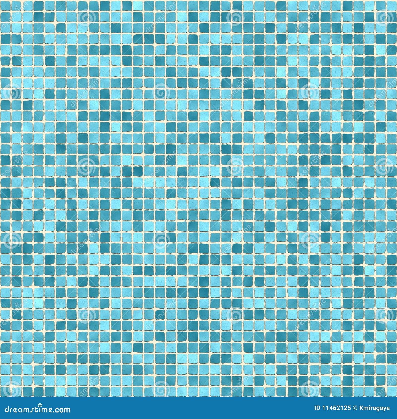 Small Green Tiles Texture Stock Illustration Illustration