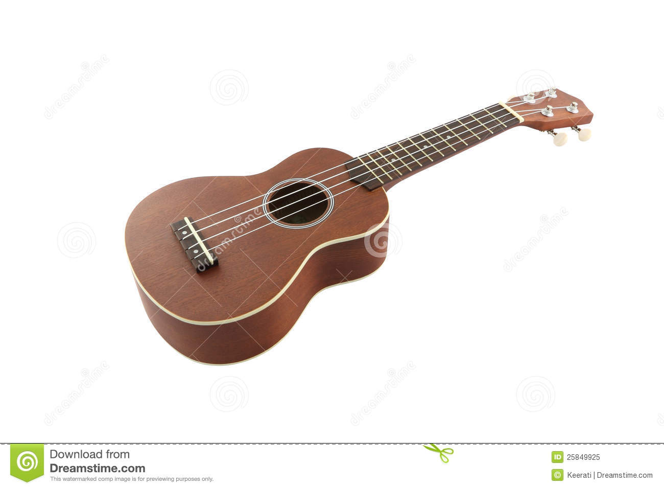 Small Guitar (ukulele) From Body Royalty Free Stock Photo ...