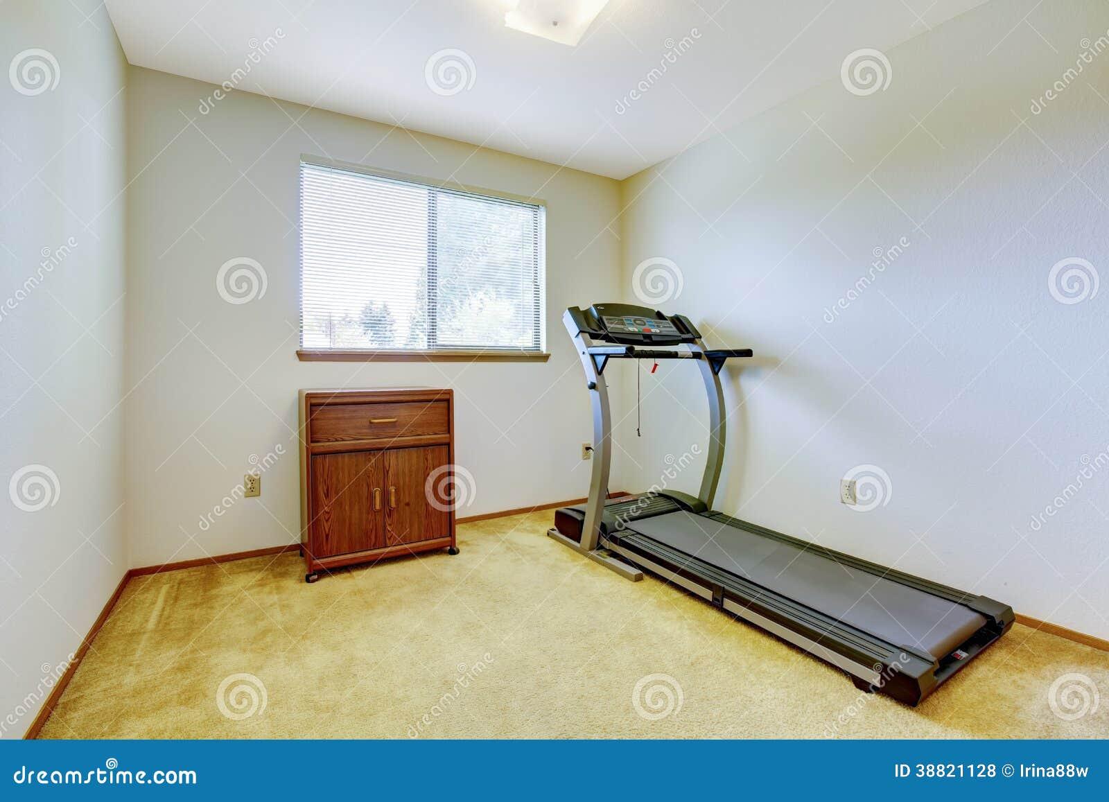 Small gym room stock photo image of house window nobody