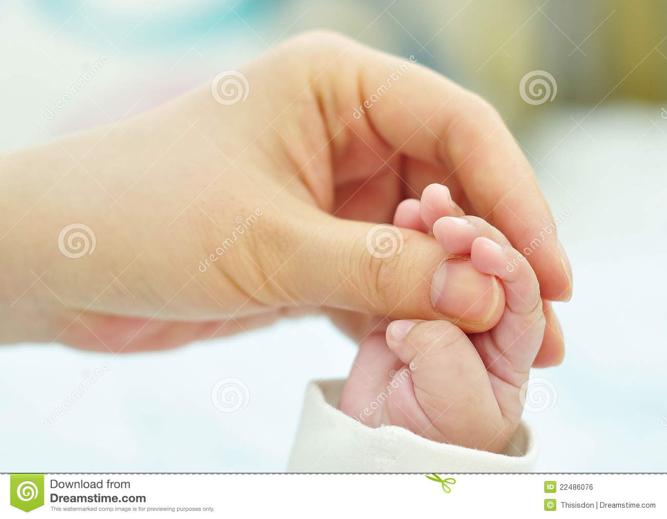 Small Hand In The Big Hand Stock Photo Image Of Small 22486076