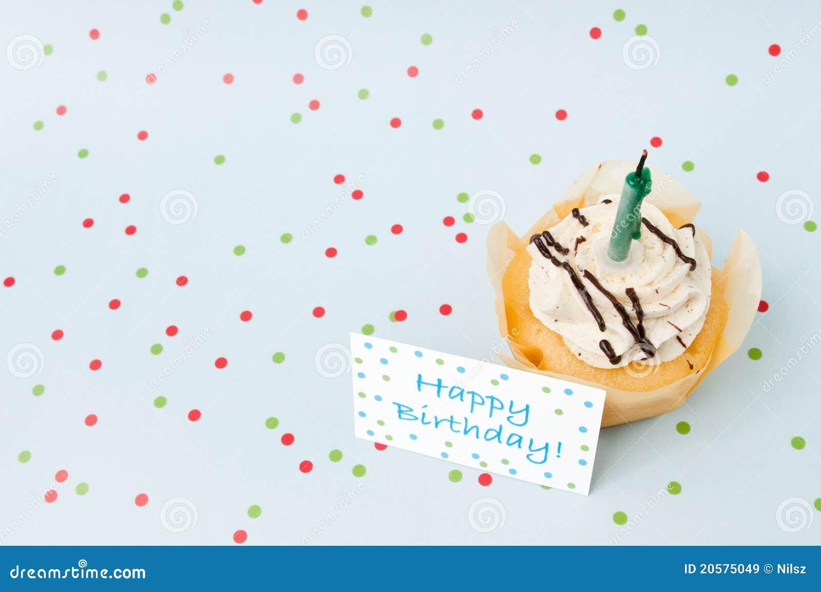 Small happy birthday cake